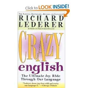 Joy Ride Through Our Language (9781417616985) Richard Lederer Books