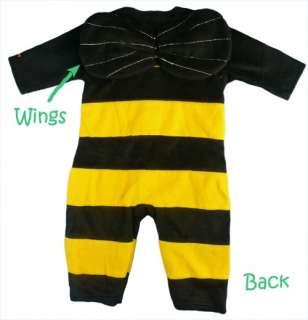 Baby Toddler Fancy Dress Up Fleece Romper Suit Costume
