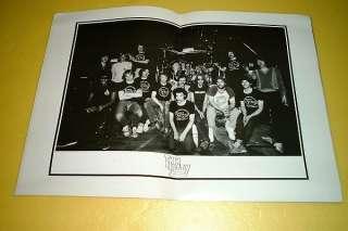 THIN LIZZY JAPAN TOUR BOOK CONCERT PROGRAM 1980