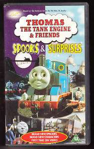 THOMAS THE TANK ENGINE   SPOOKS & SURPRISES   VHS PAL