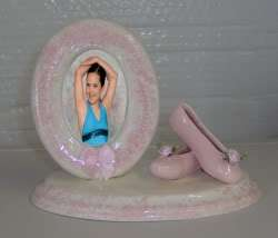 New Ballet Ballerina Shoe Slippers Dance Gift Frame