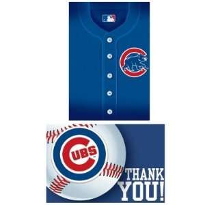 Costumes 203840 Chicago Cubs Baseball  Invites & Thank You