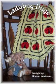 Baby Afghan Crochet Pattern by Sharon Santorum  NOOK Book (eBook