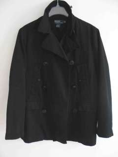 New POLO RALPH LAUREN mens Navy Jacket coat, NWT, $365, L