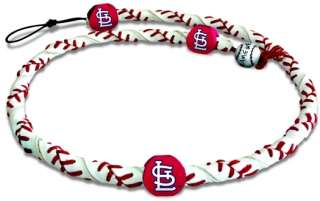 ST. LOUIS CARDINALS ~ GAME WEAR FROZEN ROPE NECKLACE