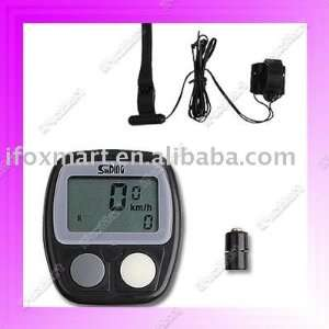 shipping lot bike bicycle lcd cycle computer odometer speedometer 481