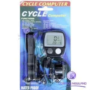 new bicycle bike cycle meter speedometer computer odometer