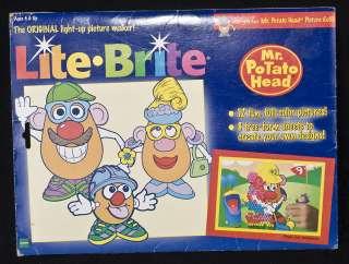 Original Lite Brite MR POTATO HEAD Picture Refill Paper Hasbro Vintage