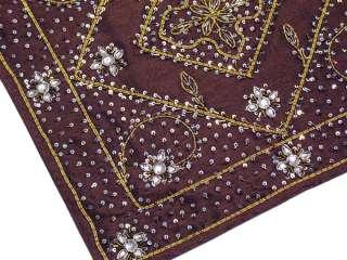 Handmade Indian Pillows Beautiful Accent Sofa Chair 2 Cushion Covers