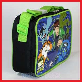 Ben 10 Riding Insulated Lunch Bag   Box Cartoon Network School