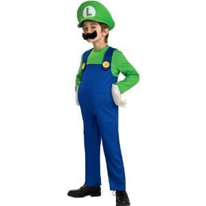 Lets Party By Rubies Costumes Super Mario Bros.   Luigi Deluxe Toddler