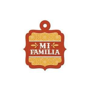 We R Memory Keepers   Fiesta Collection   Embossed Tags