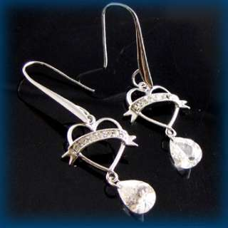 this gorgeous cubic zirconia cz earrings are the best for wedding