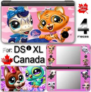 Littlest Pet Shop SKIN COVER VINYL STICKER 1 for DSi XL