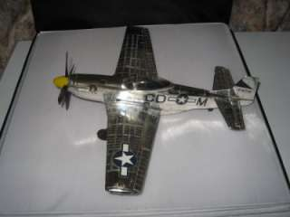 Testors P51 Control Line Gas airplane nice