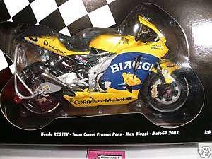 Minichamps Honda RC211V MotoGP 2003 Max Biaggi