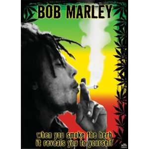 Bob Marley   Smoke the Herb Man! Best Seller Giant Poster