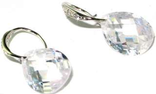Latest collection Lovable white topaz .925 STERLING SILVER Earrings 1