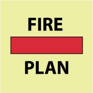 SIGNS SYMBOL FIRE CONTROL SAFETY PLAN Home Improvement
