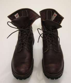 Red Wing Heritage Logger boots Irish Setter Sport boot sz 10 w/ Vibram