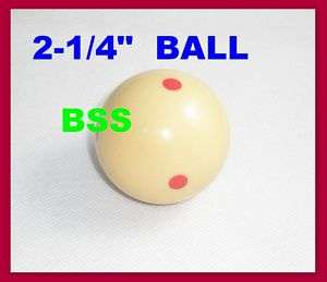 Practice Training Pool snooker Billiard Cue ball 2 1/4