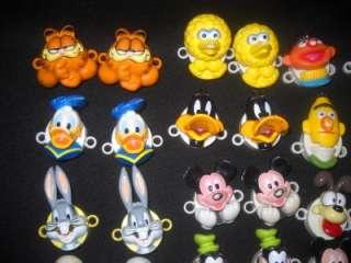 Bow Biters ShoeLace Locks Disney Mickey Mouse Sesame Street & Garfield