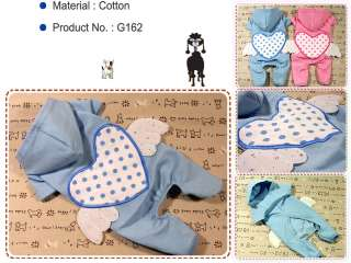 Dog Clothes G162,Angel Wings Costume All in One Hoodie