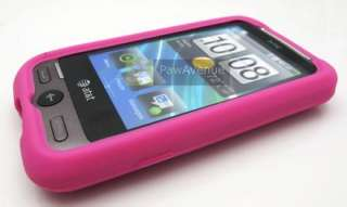 PINK Soft Silicone Gel Skin Case Cover HTC Freestyle
