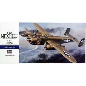 HASEGAWA   1/72 B25H Mitchell USAAF Bomber (Plastic Models