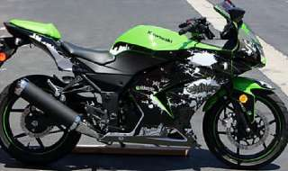 2008 2012 Kawasaki Ninja 250 250R GRAPHICS KIT