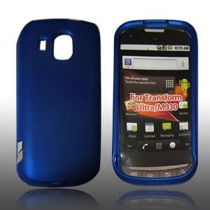 com NEW BLUE Rubberized Hard Case Cover Skin For Boost Mobile Samsung