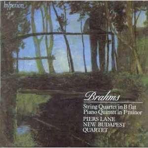 Piano Quintet in F Minor / String Quartet No.3 Brahms
