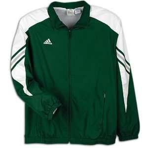 adidas Mens Performance Basic Warm up Jacket ( sz. XXXL, Forest/White