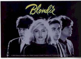 BLONDIE Classic 80s Band Album Cover logo Sticker