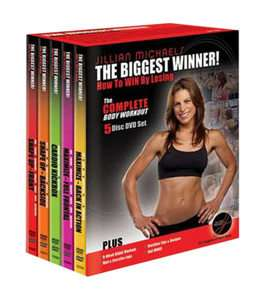 Jillian Michaels   Complete Body Workout DVD, 2005, 5 Disc Set
