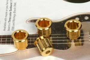Fender American Series Bass Gold Body String Ferrules 0049763049