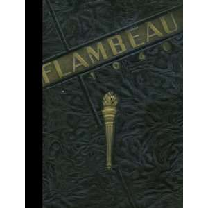 1940 Yearbook Staff of Marquette University High School Books