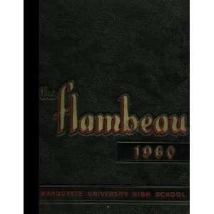 Wisconsin Marquette University High School 1960 Yearbook Staff Books