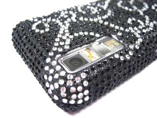 DIAMOND BLING CRYSTAL FACEPLATE CASE COVER SAMSUNG BEHOLD T919