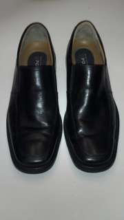 Bostonian Mens Black Leather Dress Shoes 10.5