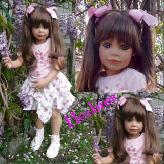 Masterpiece Amelia by Susan Lippl, 38 Vinyl & Cloth Doll, In Stock