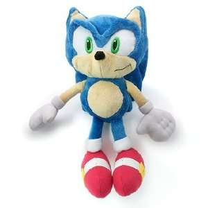 SONIC THE HEDGEHOG Sonic 12 Plush: Toys & Games