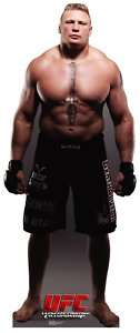Brock Lesnar standup poster UFC / MMA (#913)