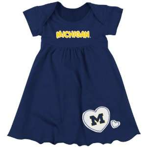 com Michigan Wolverines Infant Navy Superfan Dress Sports & Outdoors