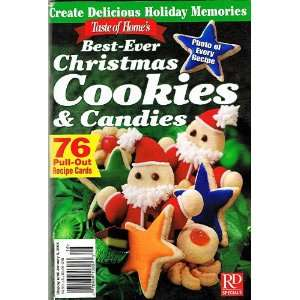 Cookies & Candies; 76 Pull Out Recipe Cards (Photo of every recipe
