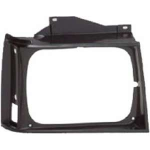 QP G0729 c GMC Jimmy Black Passenger Headlight Door Grille