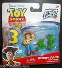 Toy Story Buddy Pack Waving Woody Green army Men New