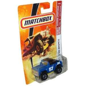 95   Blue Compact SUV Off Road Vehicle 1972 Ford Bronco: Toys & Games