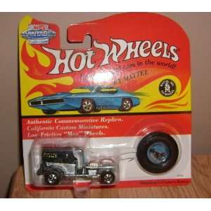 hot wheels 1993 red line blue paddy wagon vintage collection authentic