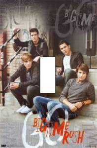 BIG TIME RUSH ON STEPS Single Light Switch Cover